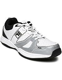 FILA Men White Novaro LT Tennis Shoes