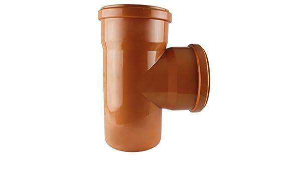 MKK/ /19591/ /160/angolo 90//° forma parte raccordo a gomito tubo di scarico arancione /kg T Pezzi DN 110/