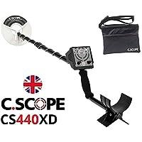 C. Scope c-scope CS440 X D metal detector cercametalli Metal Oro Monedas búsqueda