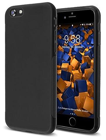 mumbi double GRIP Hülle für iPhone 7 Schutzhülle schwarz