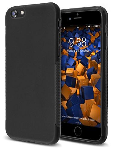 mumbi double GRIP Hülle für iPhone 8 / iPhone 7 Schutzhülle schwarz