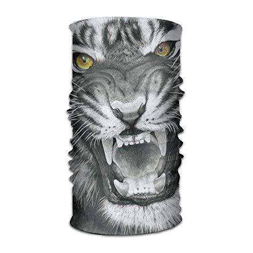Tigers Attack Headwear For Men And Women-Yoga Sports Travel Workout Wide Headbands,Neck Gaiter,Bandana,Helmet Liner,Balaclava,Hair Turban,Scarf