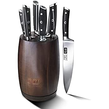 Shan Zu Kitchen Knife Set Block Sets With Knives Premium