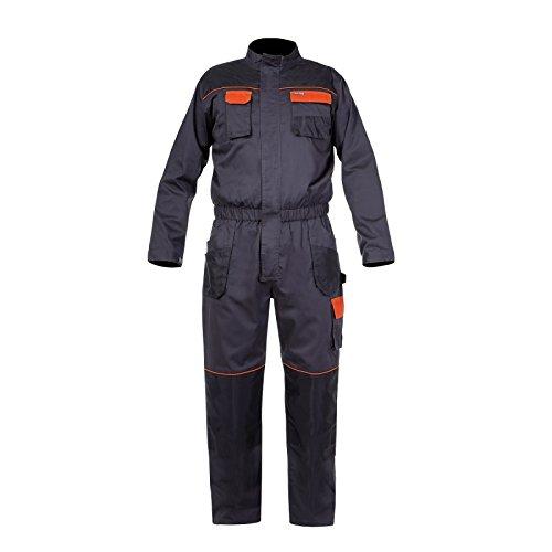 LAHTI PRO Herren Arbeitsoverall Overall Arbeitskleidung Graphit CE/EN ISO 13688 (M)