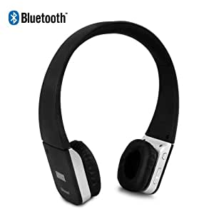August EP635 Bluetooth Headphones with Microphone - Wireless Stereo Headset with Mic for All Smartphones, iPhones and Tablets / Laptops