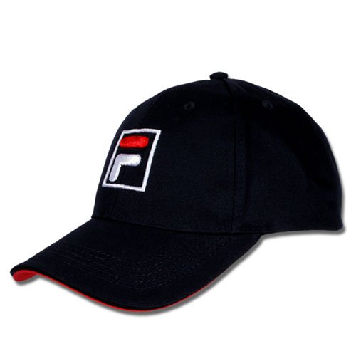Fila Unisex Tennis Baseball Cap Kappe FORZE dunkelblau