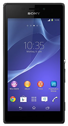 Image of Sony Xperia M2 Smartphone (4,8 Zoll (12,2 cm) Touch-Display, 8 GB Speicher, Android 4.3) schwarz