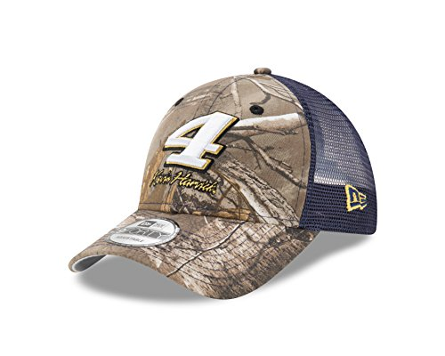 New Era NASCAR Realtree Camo 9Forty Adjustable Trucker Cap, One Size
