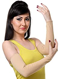 TeeMoods Womens Fingerless Protective Summer Gloves