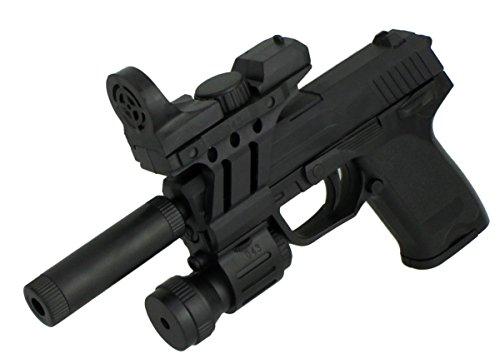 GYD Schalldämpfer Speziale Operation Softair Kugelpistole 26.cm Spielzeugwaffe Pistole Spielzeugpistole CS Mod:1-1-13 -
