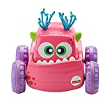 Fisher-Price Coche Monstruito rosa, juguete gateo, bebé +9 meses...
