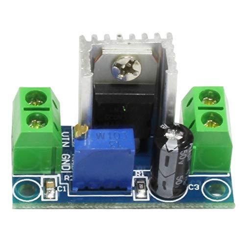 Junecat Gleichstromwandler Reduction Voltage Regulator Down-Converter Circuit Board 100MHz 1.2-37V Schritt Voltage Converter Circuit