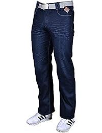 7a37599ced3 Big Mens Mid Blue Kam Eton 32 Inch Inside Leg Jeans (KBS-Eton)