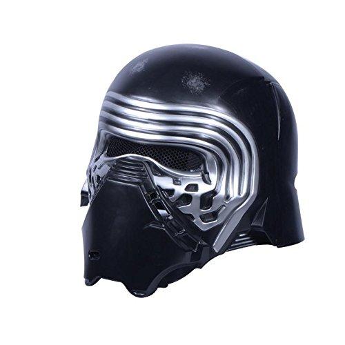 Rubie's Offizielle Star Wars Kylo Ren-Maske für Erwachsene, Einheitsgröße, Schwarz (Star Wars Kostüme Offizielle)