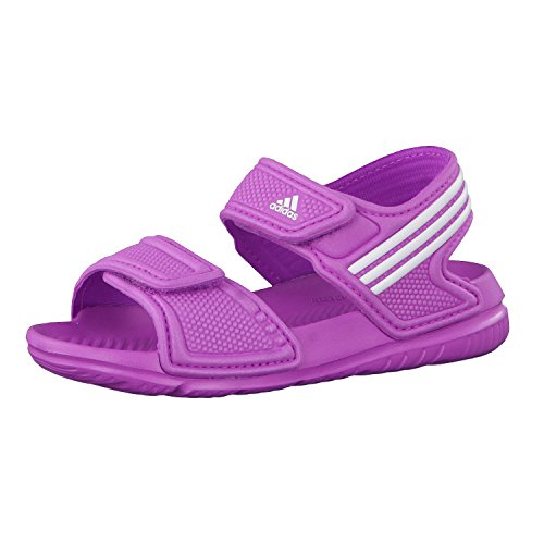 adidas Performance Akwah 9, Unisex Baby Lauflernschuhe, Pink (Flash Pink S15/Ftwr White/FTWR White), 26 EU (8.5 Baby UK)