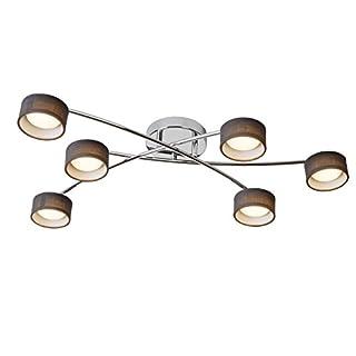 Lucide ALYS-LED - Deckenstrahler - LED - 6x5W 3000K - Chrom