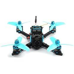Laurelmartina HGLRC XJB 145 145mm Micro Mini Brushless RC Racing Quadcopter Aviones no tripulados con 5.8G FPV CCD VTX / F4 FC con OSD PNP