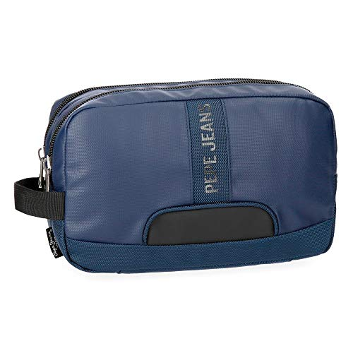 Neceser Pepe Jeans Bromley Azul adaptable a trolley
