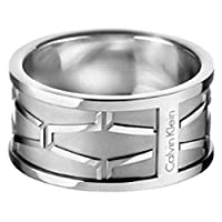 Calvin Klein Abstract Ring Abstract Sst Po 11 Ring - KJ3BMR000111 For women