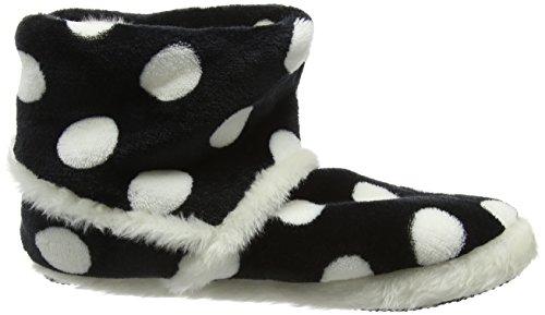 Eaze - Spot Pom Pom Slipper, Pantofole Donna Blu (Blu (Navy))