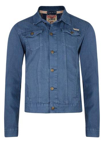 Veste Jean Homme Ornement Motif Aztèque Tokyo Laundry Bleu