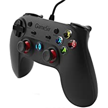 GameSir G3w Mando para Juegos con Cable, Gamepad para Android Smartphone / Windows PC / PS3 (sin soporte para móvil)