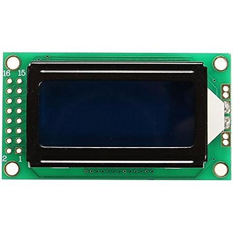Yongse 0802 Modulo LCD 8 * 2 display a caratteri
