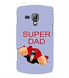 FUSON Super Dad 3D Hard Polycarbonate Designer Back Case Cover for Samsung Galaxy S3 Mini I8190 :: Samsung I8190 Galaxy S Iii Mini :: Samsung I8190N Galaxy S Iii Mini