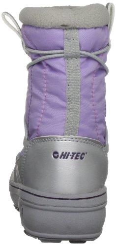 Hi-Tec Equinox O001439/053/01, Chaussures de sports d'hiver mixte enfant Argent-TR-F5-14