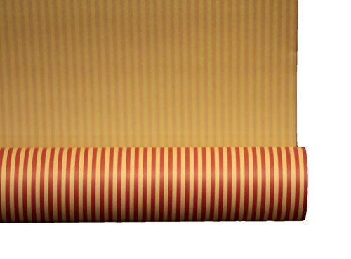 Retro Geschenkpapier I A1250 I Hochwertiges Einschlagpapier für Geschenke I zu Geburtstagen, Hochzeiten oder als Weihnachtspapier I (Mix 1 = 4 Rollen))