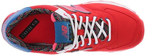 New Balance Femmes Classiques Traditionnels Textile Rouge