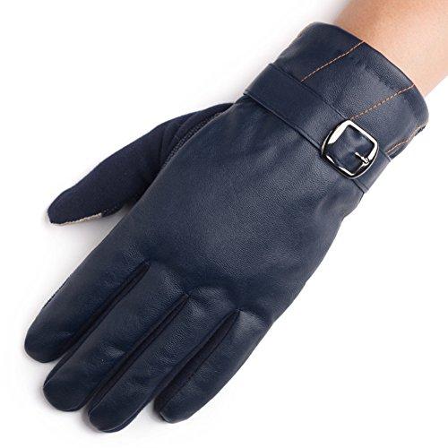 Gants de vélo coupe-vent hommes de conduite/Gants tactile que les gants/ warm gants antidérapants B