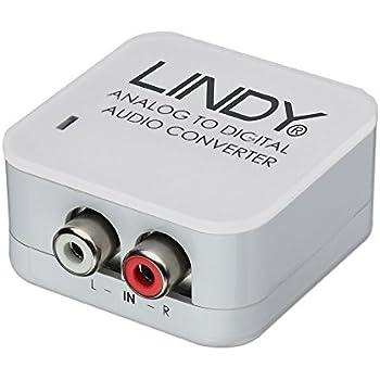 Lindy Convertisseur audio analogique -> SPDIF numérique