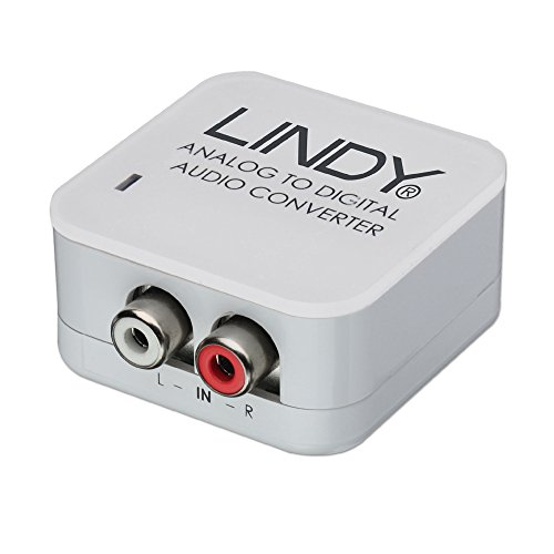 LINDY 70409 - Audiokonverter Analog zu SPDIF Digital