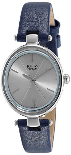 Titan Raga Viva Analog Silver Dial Women's Watch-2579SL01