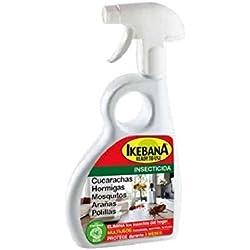 IKEBANA 500ml - Spray insecticida, larvicida y acaricida para el hogar