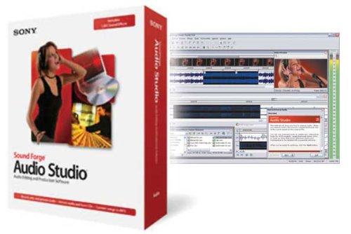 Sony Sound Forge Audio Studio 8 (PC) (Audio Forge Sony Sound Studio)