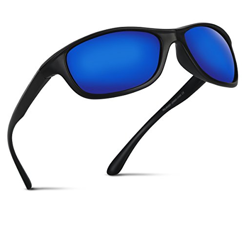 82ee0619da84c Occffy polarized sports sunglasses with UV400 Protection for Man Women  Outdoors Sports Fishing Ski Driving Golf