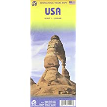USA Travel Reference Map: 1:2,3m