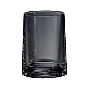 Kleine Wolke Toothbrush Holder Pino in Anthracite, Tumbler