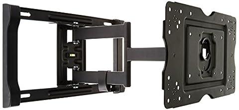 AmazonBasics - Bewegliche TV-Wandhalterung, für Fernseher mit einer Bildschirmdiagonale von 32-80 Zoll / (Wandhalterungen Für Tv)