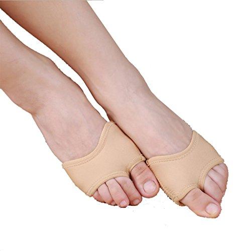 Wgwioo Bauch / Ballett Tanz Toe Pad Praxis Schuhe Fuß Tanga Schutz Tanz Socken Kostüm Gamaschen Zubehör Bühne Aufführungen Komfort . Color . (Uk Ballroom Kostüme)