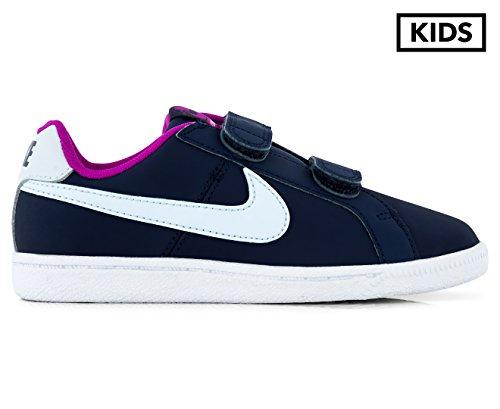 Nike 833655-400, Zapatillas de Deporte Niña, Azul (Midnight Navy / Blue Tint-Hyper Violet), 33.5 EU