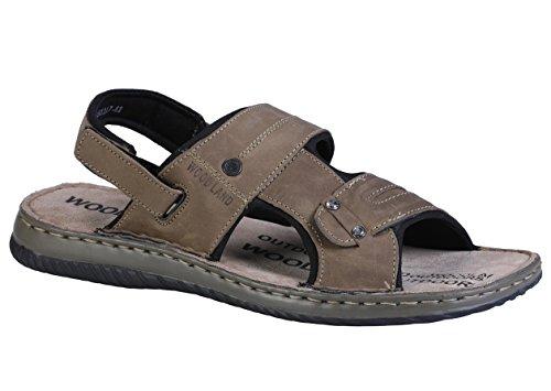 Woodland Men's Khaki Sandals - 9 UK/India (43EU)(OGD 2451117)  available at amazon for Rs.1500