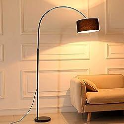 Lámparas De Pie Para Salon Vintage Lámpara De Pie De Arco Giratorio Plegable De Mármol Negro Cromado E27 Para Trabajo De Oficina Y Lámpara De Estudio Dormitorio Sala De Estar Estudio Lámparas De Pie