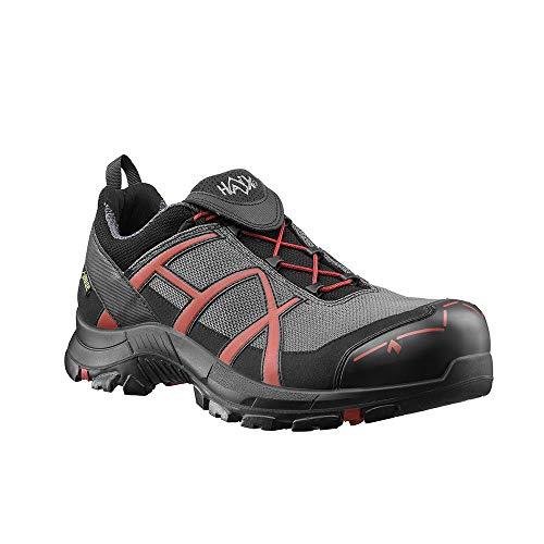 Haix Black Eagle Safety 40 Low Grey/red Sicherheitsschuhe im modernen Sportschuh-Look. 44