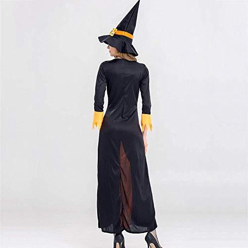 JUN Halloween kostüme frauen weiblich erwachsene hexe kleid halloween kostüm ball thema party (Hexe Themen Kostüm)
