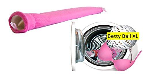 Betty Ball XL BH Waschkugel Wäschenetz + Wärmeflaschen für Frauen -