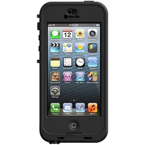 LifeProof nüüd - Funda para iPhone 5 (67.1 mm, 12.9 mm, 137.5 mm) Negro