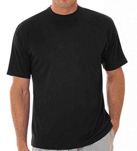 Ultra Club Herren T-Shirt Schwarz